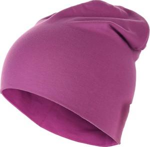 Różowa czapka Bejo z bawełny