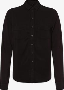 Czarna bluzka Review z kołnierzykiem w stylu casual