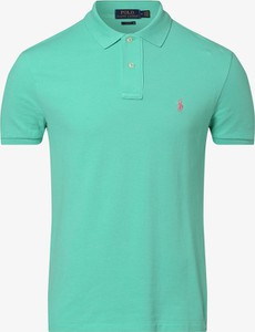 Zielona koszulka polo POLO RALPH LAUREN z krótkim rękawem