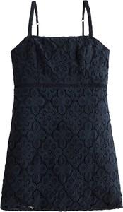 Granatowa sukienka Hollister Co. mini