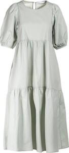 Sukienka Multu w stylu casual z okrągłym dekoltem mini