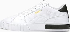Buty sportowe Puma cali z płaską podeszwą ze skóry