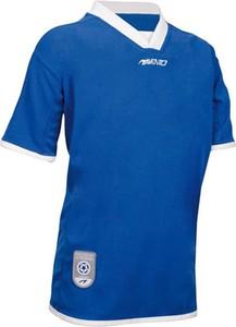 Niebieska koszulka dziecięca Avento z dzianiny