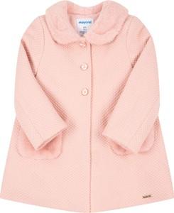 Różowy płaszcz dziecięcy Mayoral