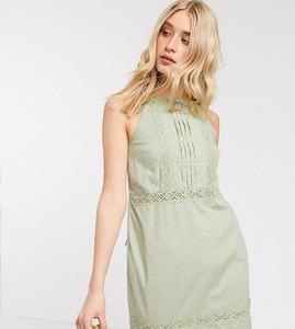 Sukienka Asos mini z żakardu