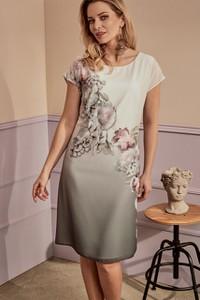 Sukienka Risca dla puszystych z tkaniny
