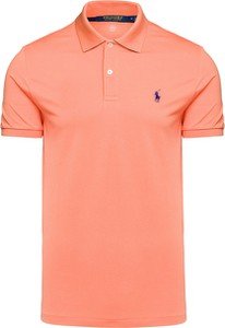 Pomarańczowy t-shirt POLO RALPH LAUREN