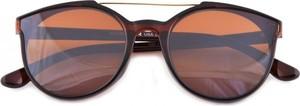 Stylion Damskie okulary przeciwsłoneczne brązowe hm-1624a