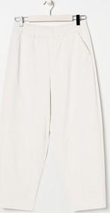Spodnie Sinsay ze skóry