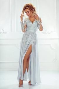 2658fa8e046134 długa sukienka koronkowa - stylowo i modnie z Allani