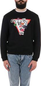 Sweter Guess w młodzieżowym stylu z bawełny
