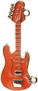 Em Men`s Accessories Wpinka do butonierki pomarańczowa gitara EM 18