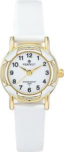 Zegarek na komunię damski PERFECT - L248-9A -biały