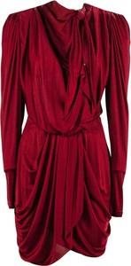 Sukienka Isabel Marant w stylu casual z długim rękawem z dekoltem w kształcie litery v