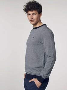Sweter Ochnik z okrągłym dekoltem