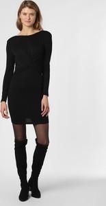 Czarna sukienka Only mini z długim rękawem