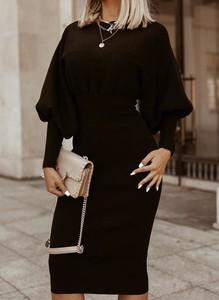 Sukienka Sandbella ołówkowa maxi