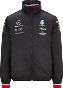 Czarna kurtka Mercedes Amg Petronas F1 Team krótka