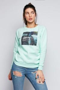 Bluza Diamante krótka w młodzieżowym stylu