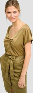 Bluzka ORSAY z krótkim rękawem z dekoltem w kształcie litery v