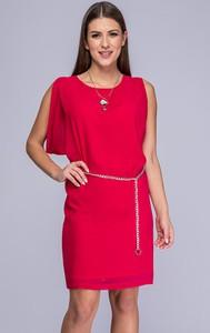 725c8c0a83 Sukienka Semper dopasowana z okrągłym dekoltem
