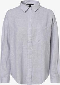 Bluzka Armani Exchange z długim rękawem z kołnierzykiem