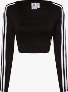 Bluzka Adidas Originals z okrągłym dekoltem w sportowym stylu