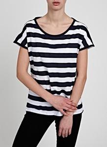 T-shirt Gate z okrągłym dekoltem z bawełny