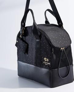 Czarna torebka Mohito w stylu casual