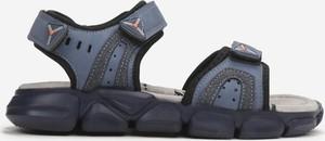 Granatowe buty dziecięce letnie born2be dla chłopców