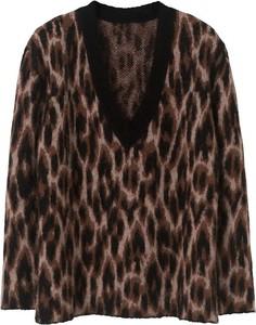 Brązowy sweter By Malene Birger w stylu casual