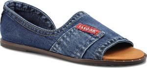 Sandały Lanqier w stylu casual z płaską podeszwą