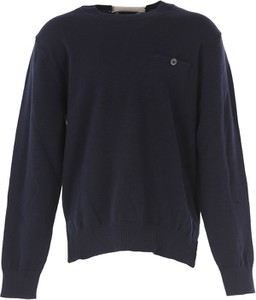 Czarny sweter Paolo Pecora