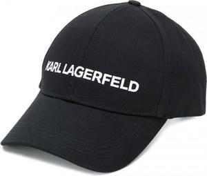Czarna czapka Karl Lagerfeld