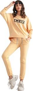 Pomarańczowy dres Fobya