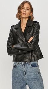 Czarna kurtka Tommy Hilfiger krótka w stylu casual