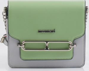 d781714c2e354 Zielona torebka Monnari w stylu glamour ze skóry ekologicznej