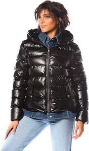 Czarna kurtka La Fabrique Du Manteau w stylu casual z bawełny