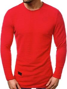 Czerwona bluza J.STYLE w stylu casual