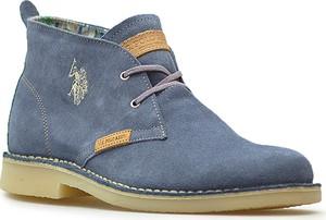 Niebieskie buty zimowe U.s .polo Assn