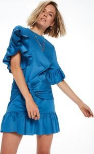 c5708c6094 Niebieska sukienka Scotch   Soda mini