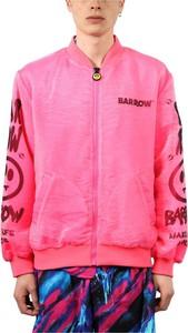 Różowa kurtka Barrow krótka w młodzieżowym stylu