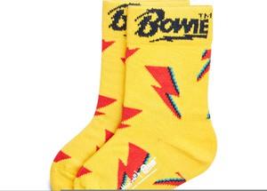 Żółte skarpetki Happy Socks dla dziewczynek
