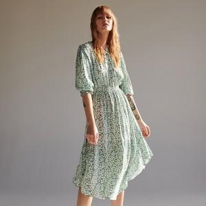 Zielona sukienka Reserved