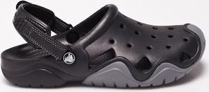 Czarne buty letnie męskie Crocs