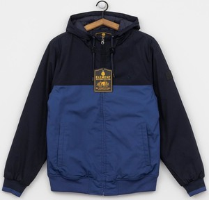 Niebieska kurtka Element w stylu casual z bawełny
