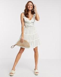 Sukienka Asos mini z tkaniny