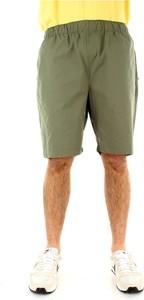 Zielone spodenki Carhartt WIP z bawełny