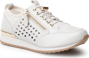 542452bc4c99b Buty sportowe Caprice w sportowym stylu z płaską podeszwą sznurowane
