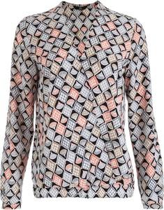 Bluzka Nife w stylu casual z dekoltem w kształcie litery v